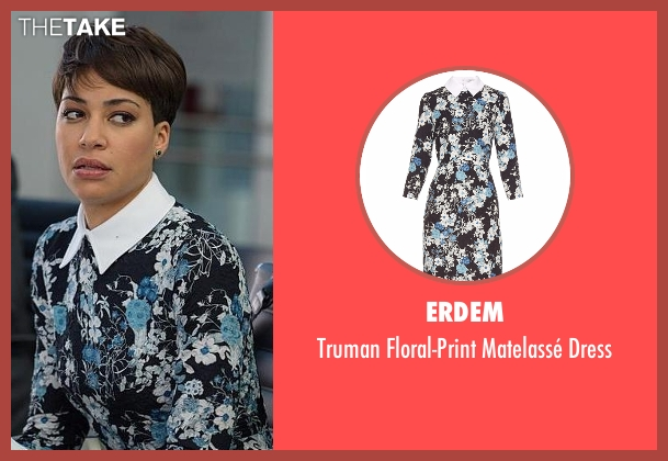 Erdem dress from The Good Wife seen with Lucca Quinn  (Cush Jumbo)