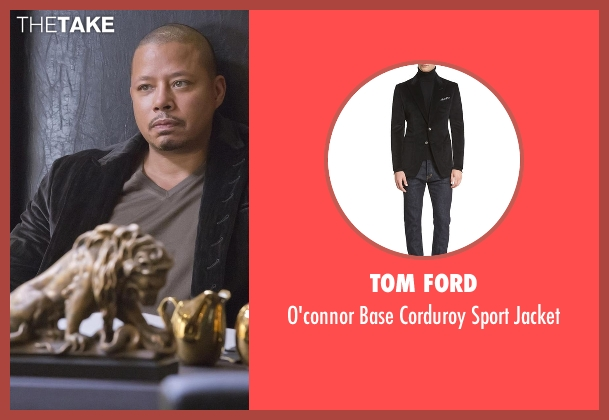 Tom Ford black jacket from Empire seen with Lucious Lyon (Terrence Howard )