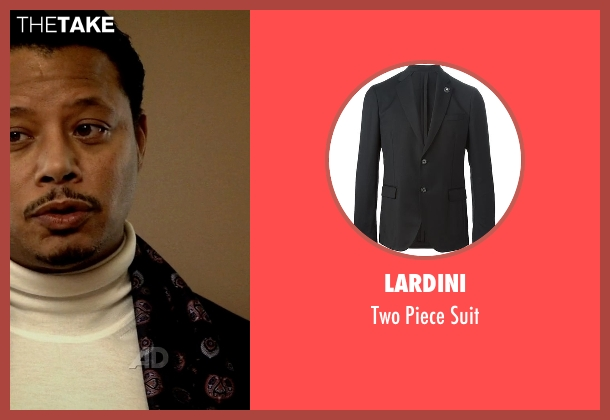 Lardini black suit from Empire seen with Lucious Lyon (Terrence Howard )