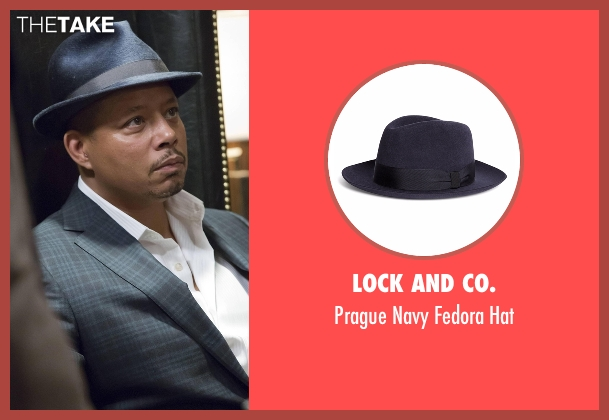 Lock And Co. blue hat from Empire seen with Lucious Lyon (Terrence Howard )