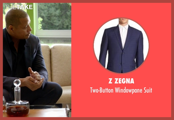 Z Zegna blue suit from Empire seen with Lucious Lyon (Terrence Howard )