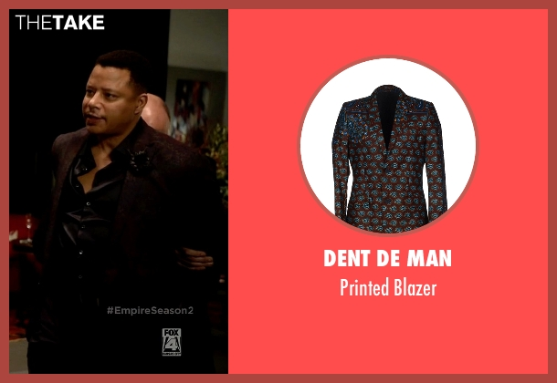 Dent De Man brown blazer from Empire seen with Lucious Lyon (Terrence Howard )