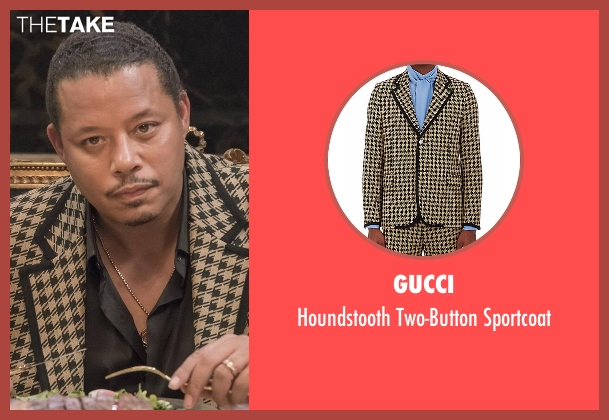 Gucci brown sportcoat from Empire seen with Lucious Lyon (Terrence Howard )