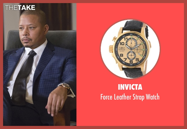 Invicta gold watch from Empire seen with Lucious Lyon (Terrence Howard )