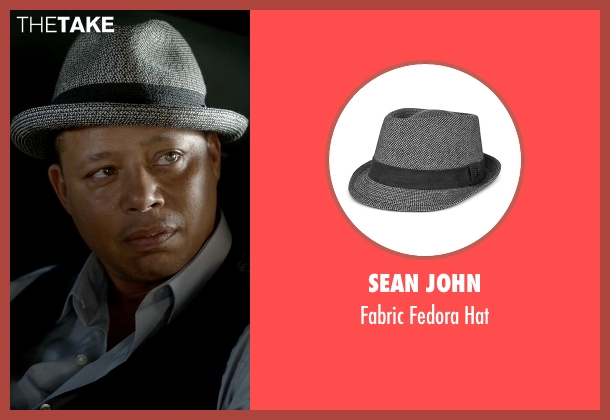 Sean John gray hat from Empire seen with Lucious Lyon (Terrence Howard )