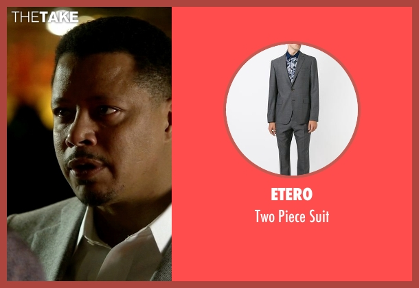 Etero gray suit from Empire seen with Lucious Lyon (Terrence Howard )
