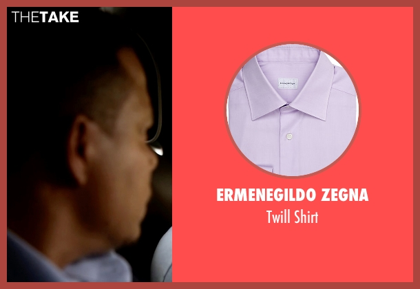 Ermenegildo Zegna purple shirt from Empire seen with Lucious Lyon (Terrence Howard )