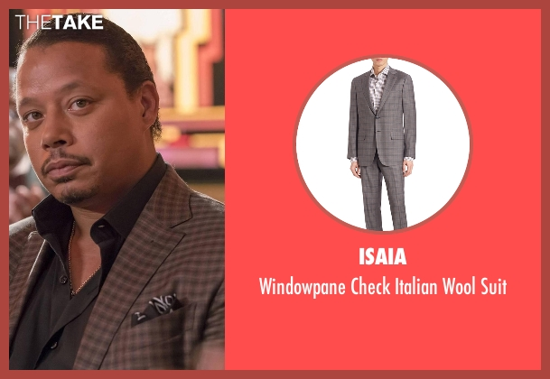 Isaia suit from Empire seen with Lucious Lyon (Terrence Howard )