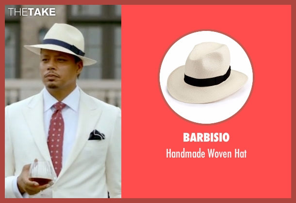 Barbisio white hat from Empire seen with Lucious Lyon (Terrence Howard )