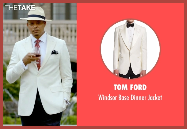 Tom Ford white jacket from Empire seen with Lucious Lyon (Terrence Howard )