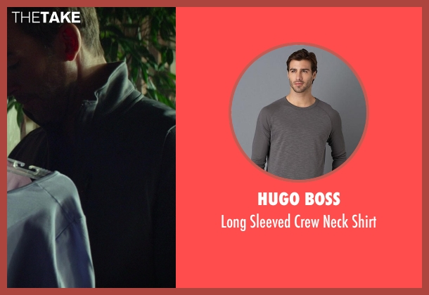 Hugo Boss gray shirt from Ride Along seen with Lucky Mangione (Police Officer)