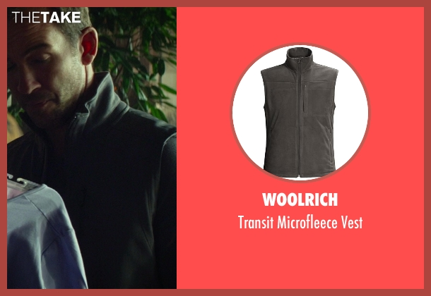 Woolrich gray vest from Ride Along seen with Lucky Mangione (Police Officer)
