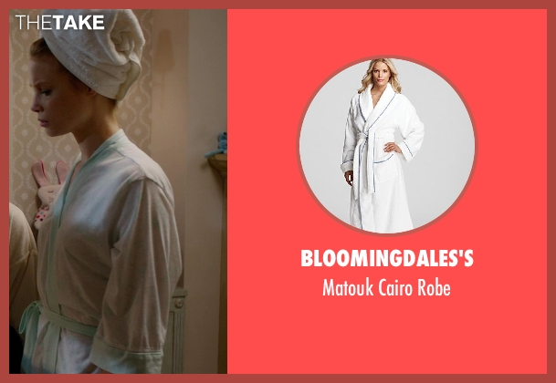 Bloomingdales's white robe from Vampire Academy seen with Lucy Fry (Lissa Dragomir)