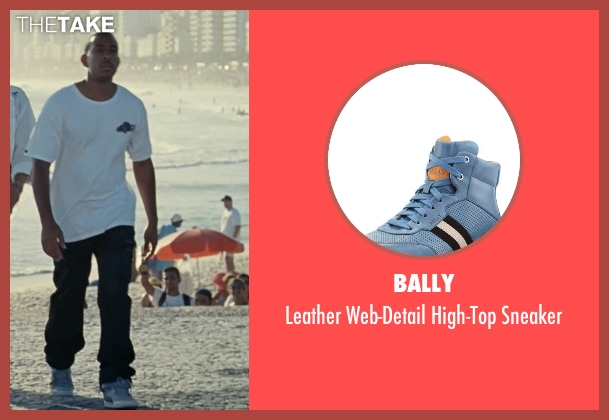 Bally blue sneaker from Fast Five seen with Ludacris (Tej Parker)