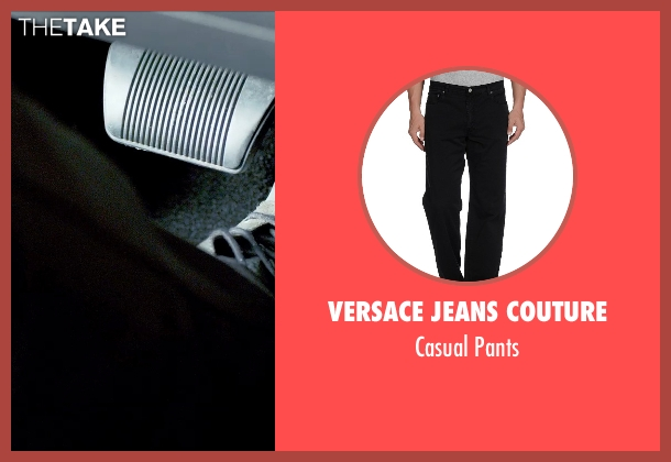 Versace Jeans Couture black pants from Furious 7 seen with Ludacris (Tej Parker)