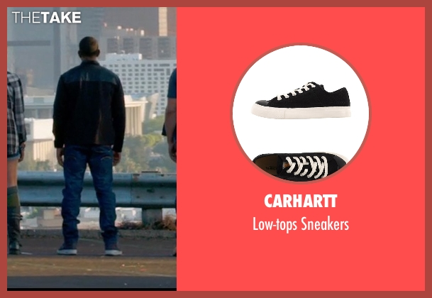 Carhartt black sneakers from Furious 7 seen with Ludacris (Tej Parker)