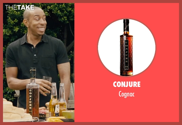 Conjure cognac from Furious 7 seen with Ludacris (Tej Parker)