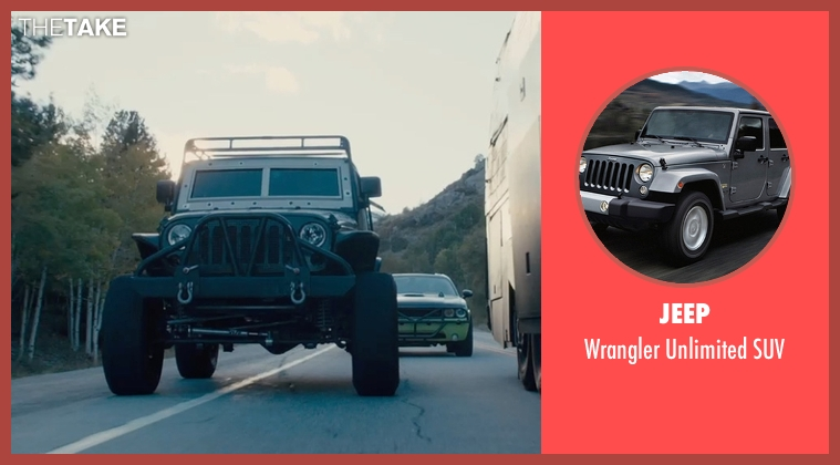 Jeep suv from Furious 7 seen with Ludacris (Tej Parker)