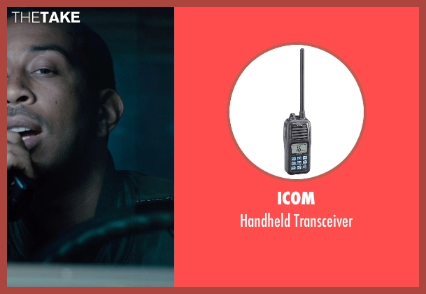 Icom transceiver from Furious 7 seen with Ludacris (Tej Parker)