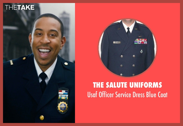 The Salute Uniforms coat from New Year's Eve seen with Ludacris (Brendan)