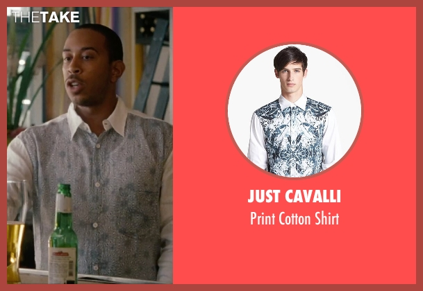 Just Cavalli white shirt from No Strings Attached seen with Ludacris (Wallace)