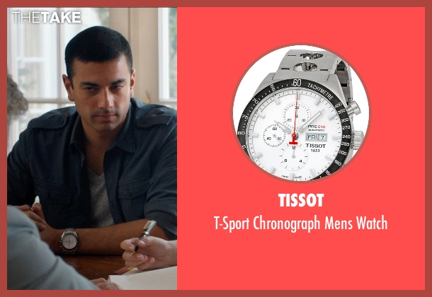 Tissot silver watch from And So It Goes seen with Luis Augusto Figueroa (Mario Reyes)