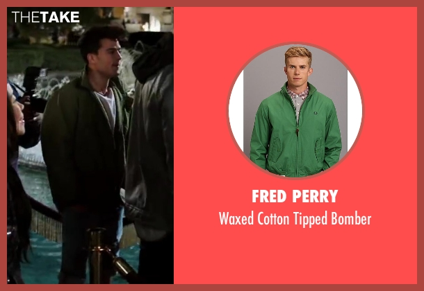 Fred Perry green bomber from Step Up: All In seen with Luis Rosado (Monster)