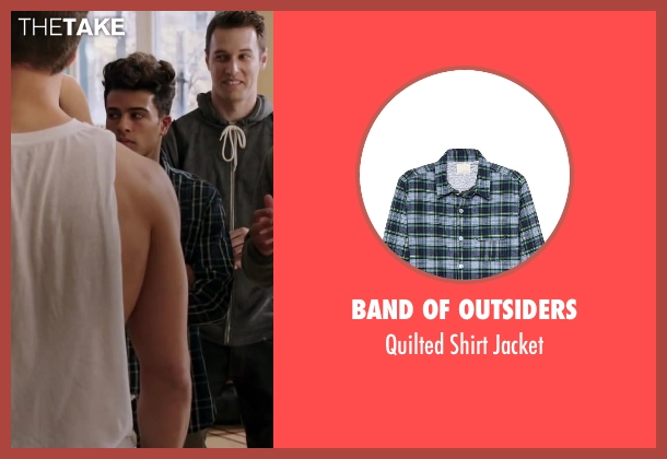 Band of Outsiders green jacket from Step Up: All In seen with Luis Rosado (Monster)