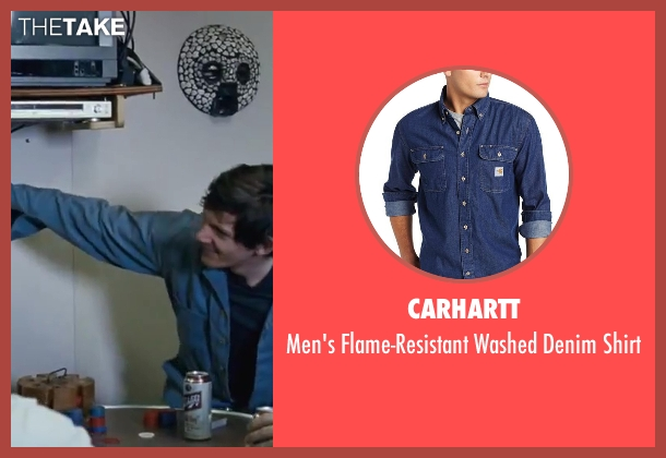 Carhartt blue shirt from Contraband seen with Lukas Haas (Danny Raymer)