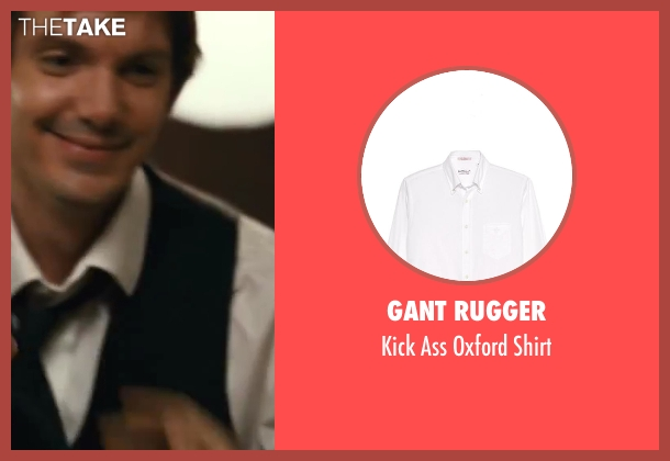 Gant Rugger white shirt from Contraband seen with Lukas Haas (Danny Raymer)