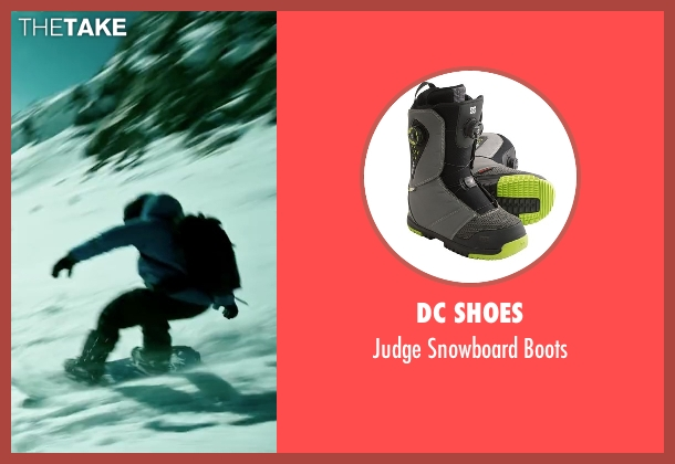 DC Shoes black boots from Point Break seen with Luke Bracey (Johnny Utah)