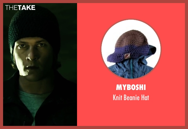 myBoshi black hat from Point Break seen with Luke Bracey (Johnny Utah)