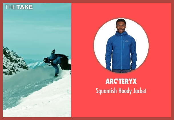 Arc'teryx blue jacket from Point Break seen with Luke Bracey (Johnny Utah)