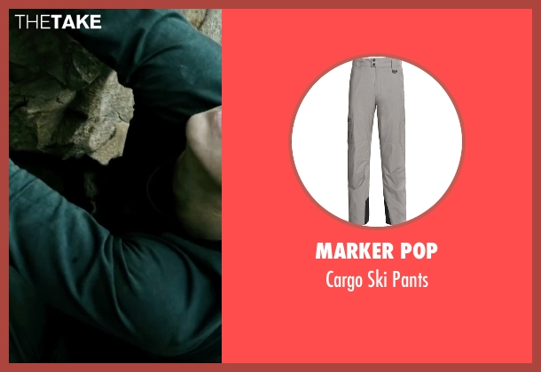Marker Pop gray pants from Point Break seen with Luke Bracey (Johnny Utah)