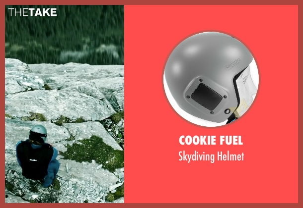 Cookie Fuel helmet from Point Break seen with Luke Bracey (Johnny Utah)