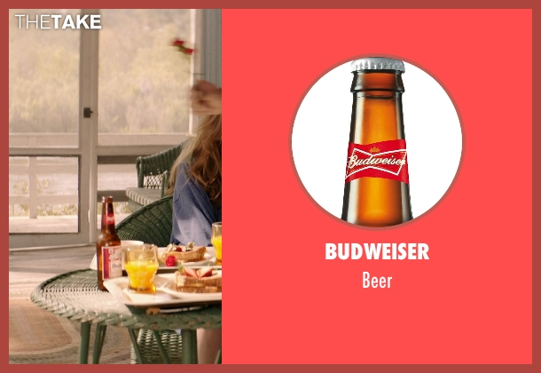 Budweiser beer from The Best of Me seen with Luke Bracey (Younger Dawson)