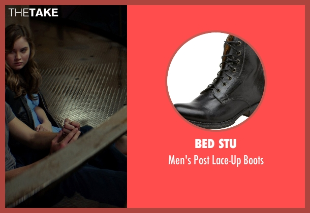 Bed Stu black boots from The Best of Me seen with Luke Bracey (Younger Dawson)