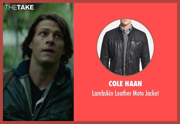 Cole Haan black jacket from The Best of Me seen with Liana Liberato (Young Amanda)