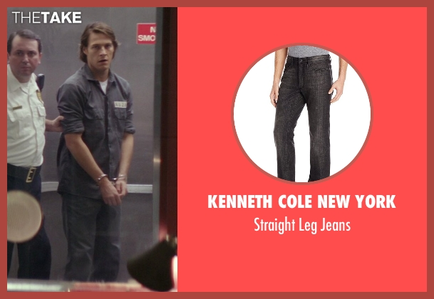 Kenneth Cole New York black jeans from The Best of Me seen with Luke Bracey (Younger Dawson)