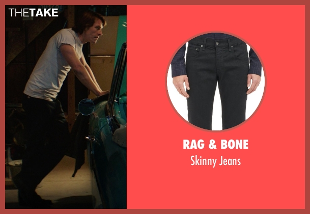 Rag & Bone black jeans from The Best of Me seen with Luke Bracey (Younger Dawson)