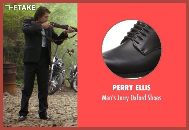 Perry Ellis black shoes from The Best of Me seen with Luke Bracey (Younger Dawson)