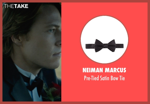 Neiman Marcus black tie from The Best of Me seen with Luke Bracey (Young Dawson)