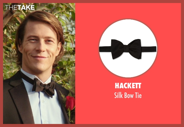 Hackett black tie from The Best of Me seen with Luke Bracey (Younger Dawson)