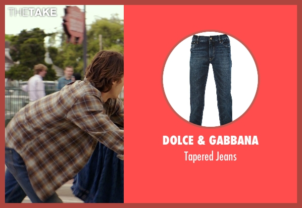 Dolce & Gabbana blue jeans from The Best of Me seen with Luke Bracey (Younger Dawson)