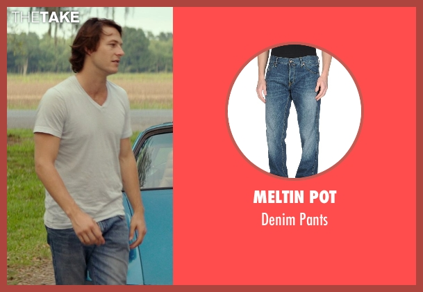 Meltin Pot blue pants from The Best of Me seen with Luke Bracey (Younger Dawson)