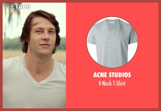 Acne Studios gray t-shirt from The Best of Me seen with Luke Bracey (Younger Dawson)