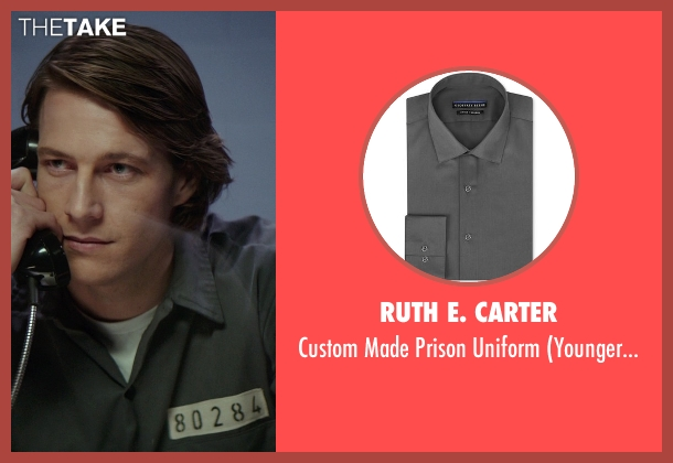 Ruth E. Carter gray uniform from The Best of Me seen with Luke Bracey (Younger Dawson)
