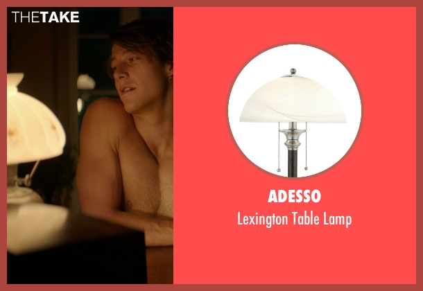 Adesso lamp from The Best of Me seen with Luke Bracey (Younger Dawson)