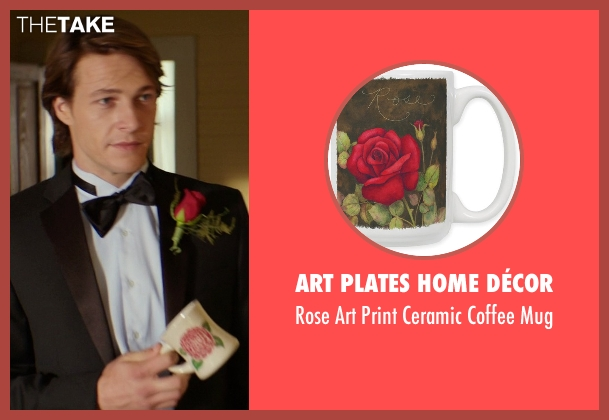 Art Plates Home Décor mug from The Best of Me seen with Luke Bracey (Younger Dawson)