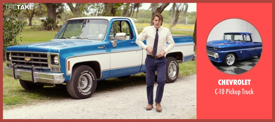 Chevrolet truck from The Best of Me seen with Luke Bracey (Young Dawson)